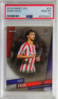2019 Topps Finest UEFA Champions League Joao Felix Atletico Madrid PSA 10 GEM MT