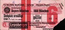Ticket BL 79/80 FC Bayern München - TSV 1860 München