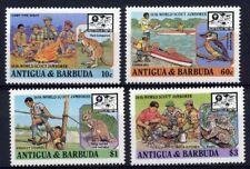 1987 Antigua Barbuda - Boy Scouts - World Jamboree (4) MNH