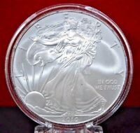 2010 American Silver Eagle BU 1 oz Coin US $1 Dollar Mint Uncirculated Capsule