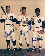 Detroit Tigers 1984 Legends reprinted 8x10 autograph signed photo Alan Trammell