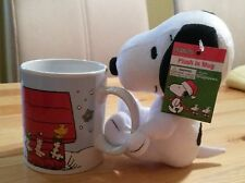 !! Snoopy / Peanuts - Set mit Tasse & Plüschfigur Figur / Neu & OVP !!