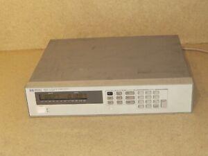 HEWLETT PACKARD 6633A SYSTEM DC POWER SUPPLY 0-50V/0-2A, 100W