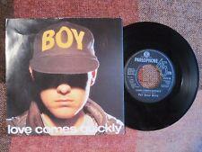 "PET SHOP BOYS - LOVE COMES QUICKLY - 7"" 45 rpm vinyl record"