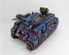 Warhammer 40k Chaos Space Marines / Night Lords - Chaos Rhino (lot 2)