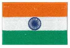 Inde patche écusson patch drapeau Indien flag 85 x 55 mm thermocollant