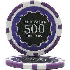 100pcs Eclipse Poker Chips $500