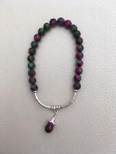 Sterling Silver Natural Ruby Fine Bracelets