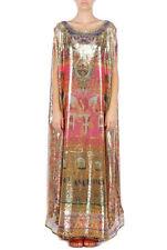 Camilla Franks Jaislimer Sequined Kaftan Long Dress Embellished Maxi Caftan