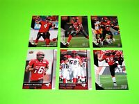 6 CALGARY STAMPEDERS UPPER DECK CFL FOOTBALL CARDS 12 13 14 49 121 110  #-1