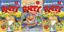 Rappy Dinosaur LEVEL 2 Readers Collection by Dan Gutman Paperback Set Books 1-3
