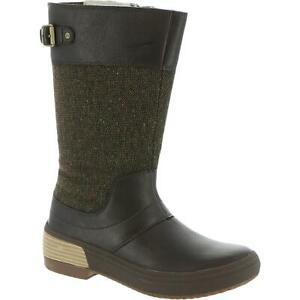 Merrell Womens Haven  Brown Zipper Mid-Calf Boots Shoes 8 Medium (B,M) BHFO 5359