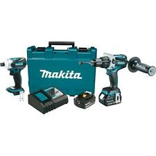 DISCOUNTED Makita 18-Volt LXT Lithium-Ion Brushless Cordless Combo Kit XT252MB