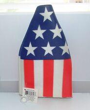American Flag Long-Neck Beer Bottle Cozy Insulator ~ NWT