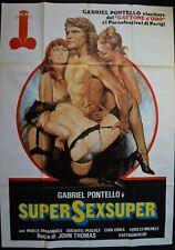 manifesto 4FG SUPERSEXSUPER GABRIEL PONTELLO THOMAS EMMANUELE PORNO  SEXY