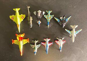 Assorted vintage plane collection bulk lot of 10