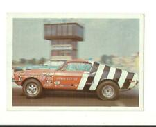1971 FLEER AHRA TRADING CARD: Sandy Elliot 1969 Mustang Top Stock Drag Champs