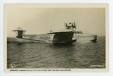 DORNIER DO-X. From the KLM Real Photo Postcard Series. Image D.24.