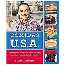 Comidas USA: Una colección esencial de recetas clásicas y reconfortantes de Est