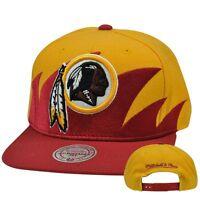 NFL Washington Redskins Sharktooth Mitchell and Ness M&N Snapback Cap Hat NEW!!!