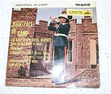 Band  Of  H.M, Royal  Marines   Nightfall  In  Camp  EP Crown Imperial / Fanfare
