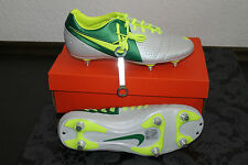 Nike Libretto Fußball Stollenschuh Silber Grün Gelb Größe UK 8; US 9; EU 42,5