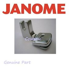 JANOME Sewing Machine Single Sided Zip Zipper Foot Cat A Genuine 940310000