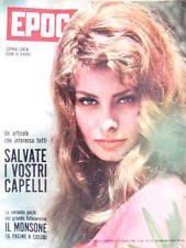 Epoca 575 1961 2° parte inserto I Monsoni. Sophia Loren. L'Archeologo C.W. Ceram