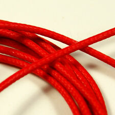 Vintage Style Single Conductor Guitar Wire  6-Foot 22 AWG Red