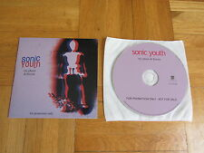 SONIC YOUTH NYC Ghosts & Flowers RARE 2000 GERMANY collectors CD issue