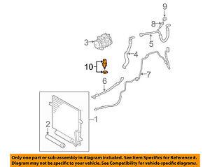MERCEDES OEM 01-05 C320 HVAC-Temperature Sensor 2038300472