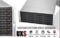 UXS Server 4U 36 Bay 2x Xeon E5-2670 V2 10 Core 128GB RAM FreeNAS 11 ZFS Docker