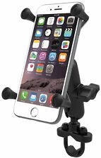 RAM Motorcycle Bike Handlebar Rail Mount with X-Grip Holder for  iPhone 7 Plus