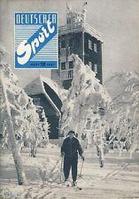 Deutscher Sport 12/1957 Zeitschrift der DDR NOK Handball Rudi Hirsch