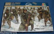 ITALERI 6133-Fanteria DEGLI STATI UNITI Inverno Uniforme seconda guerra mondiale. SCALA 1:72 PLASTICA NON VERNICIATA