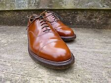 LOAKE (JONES BOOTMAKER) OXFORD- BROWN / TAN – UK 7 –EXCELLENT-GOOD FOR CHURCH