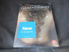 Game of Thrones Season 6 DVD Limited Edition Lannister Gold Cover C12