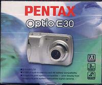 PENTAX OPTIO E30 FOTOCAMERA DIGITALE