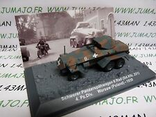 PZ33 Tank (Tanque) militar 1/72 PANZER nº33 Pesado 6 guerra Rad 231 4 div