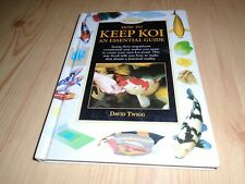 KOI CARP BOOK - COLOURS, VARIETIES, HEALTH, FEEDING, BREEDING, PONDS,TECHNIQUES
