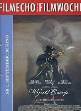 filmecho filmwoche Nr. 30 (1994) Wyatt Earp Kevin Costner Forrest Gump Kino