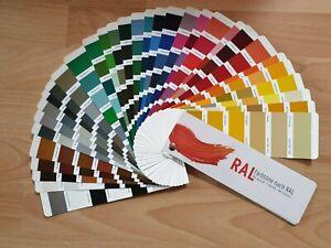 RAL Farbtonkarte RAL Farbfächer Farbtonfächer