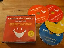 CD VA Klassiker des Humors Busch Ringelnatz .. 4CD (303 min) AUDIOBUCH jc/box