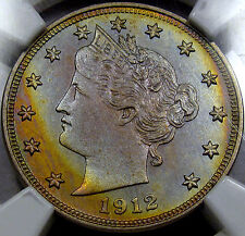 1912 Liberty Head Nickel  Choice Proof NGC PR-63... AWESOME COLOR, Matte Look!!!