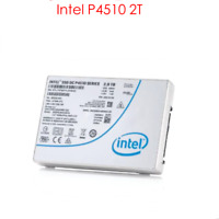 """2TB Intel SSD P4510 Series DC NVME U.2 2.5"""" SSDPE2KX020T8 Solid State Drive"""
