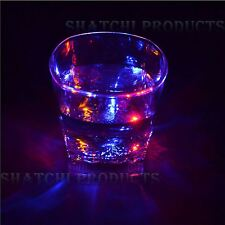 LED Flashing Glowing Liquid Activated Light-up Wine Water Glass Cup Mug Party