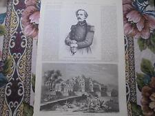 1862 Stich 321 / General Lee USA Amerikanischer Bürgerkrieg / Java Buddhismus