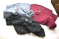 Banana Republic Mens Lot of 3 Stretch Classic Button Front Dress Shirts Sz Large