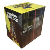 22 Dvd Box Cofanetto + Poster CAPITAN HARLOCK + SSX + GUN FRONTIER 100% completa