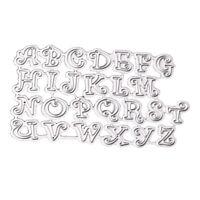 Matrices de découpe de lettre alphabet A-Z en acier au carbone gaufrage pochoir